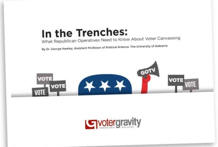 In the Trenches: What Republican Operatives Need to Know about Voter Canvassing